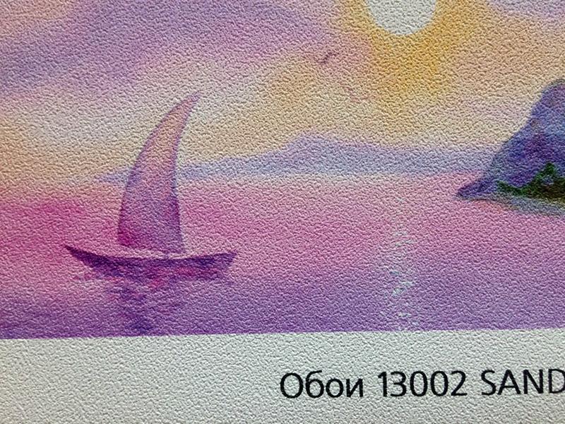 текстура обоев лодка в море