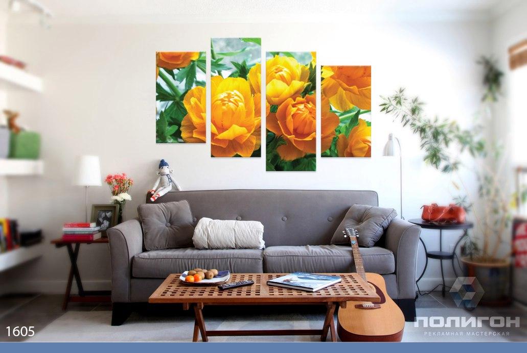 модульные картины фото красивые цветы
