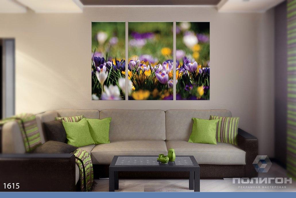 модульные картины фото цветы природа