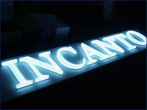 световые объемные буквы для магазина