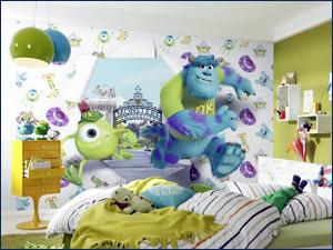 веселые фотообои в детскую комнату