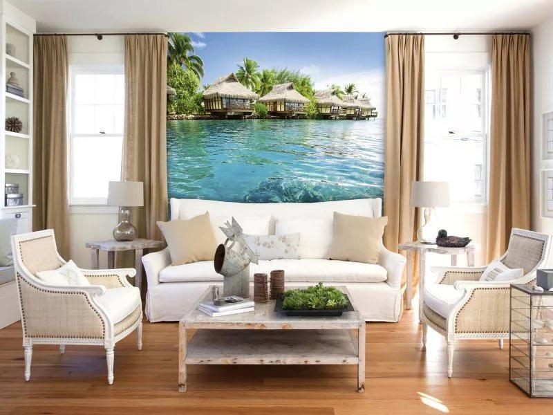 фотообои райский остров и море фото