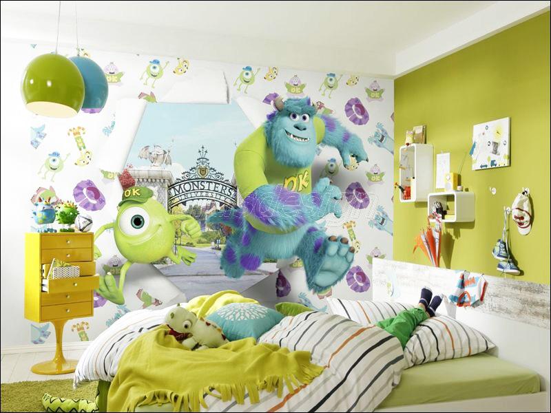 фотообои в детскую комнату корпорация монстров фото